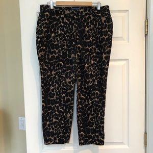 Old Navy Harper Leopard Print Pants